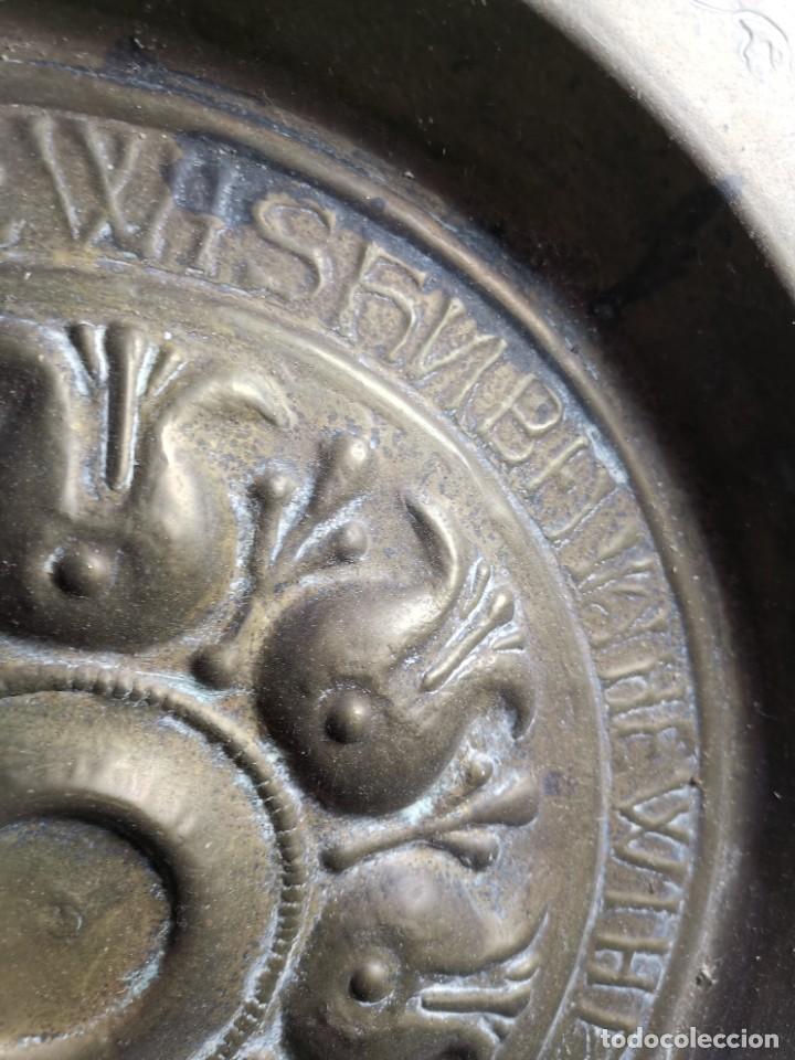 Antigüedades: ANTIGUO PLATO PETITORIO LIMOSNERO NUREMBERG SIGLO XVIII - Foto 22 - 237742950