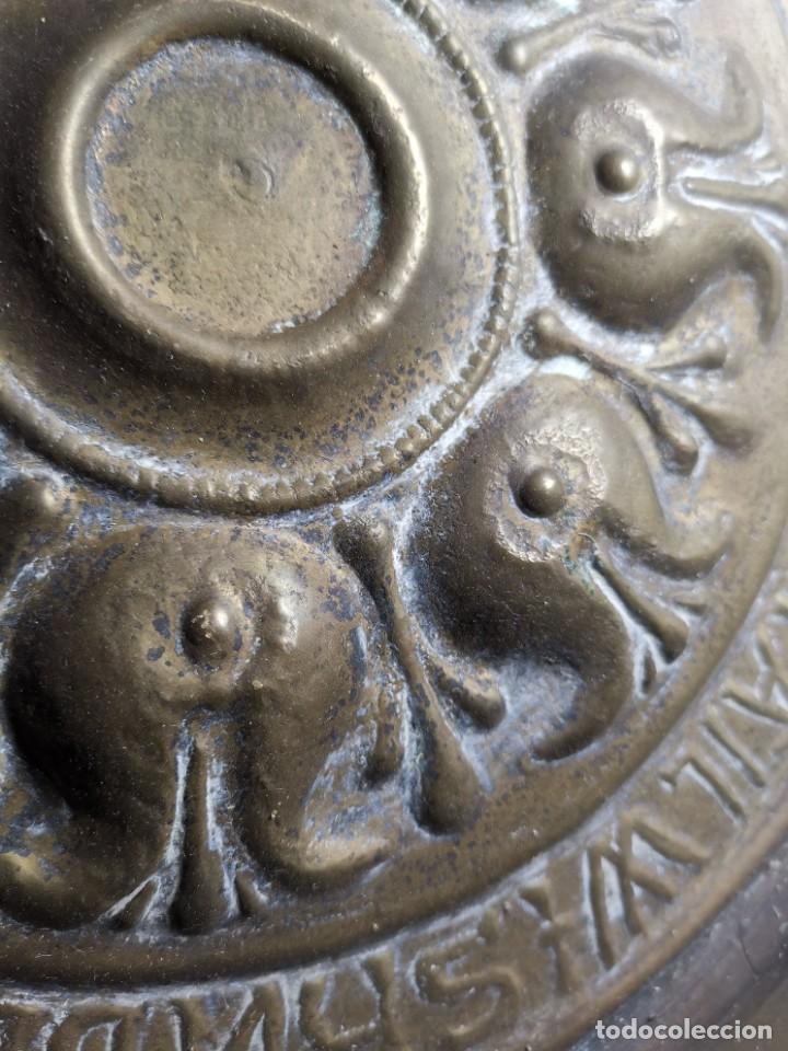 Antigüedades: ANTIGUO PLATO PETITORIO LIMOSNERO NUREMBERG SIGLO XVIII - Foto 24 - 237742950