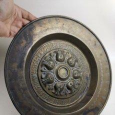 Antigüedades: ANTIGUO PLATO PETITORIO LIMOSNERO NUREMBERG SIGLO XVIII. Lote 237742950