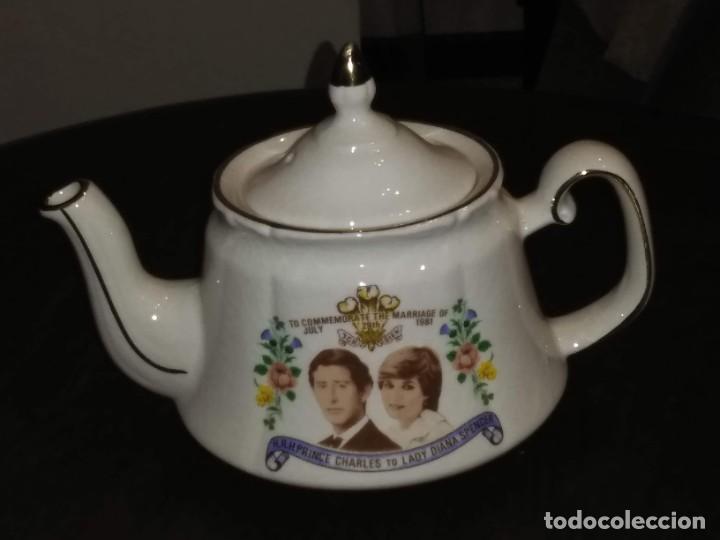 Antigüedades: Tetera - Cup teapot Price & Kensington. Made in England - Foto 4 - 188501025