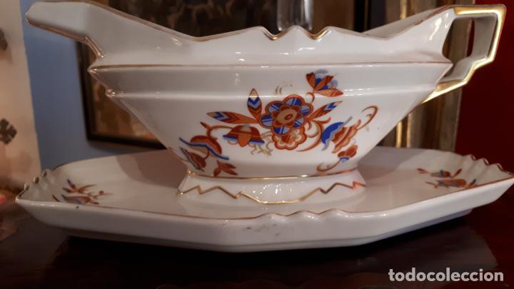 SALSERA ALEMANA (Antigüedades - Porcelana y Cerámica - Alemana - Meissen)