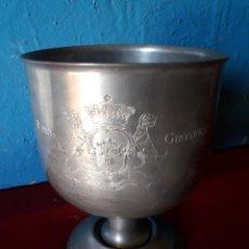 Antigüedades: COPA DE ESTAÑO. Lote 237846755