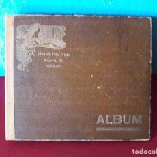 Antigüedades: ALBIN DE DISCOS DE 12 UNIDADES CO 4 DISCOS. Lote 237851200
