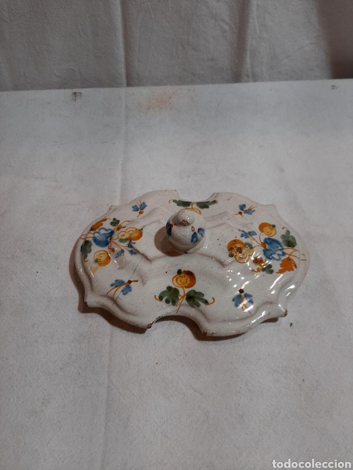 Antigüedades: Especiero Talavera serie Alcoreña - Foto 4 - 237883125