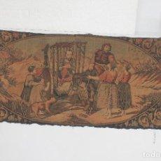Antigüedades: TAPIZ D. QUIJOTE. Lote 237912080