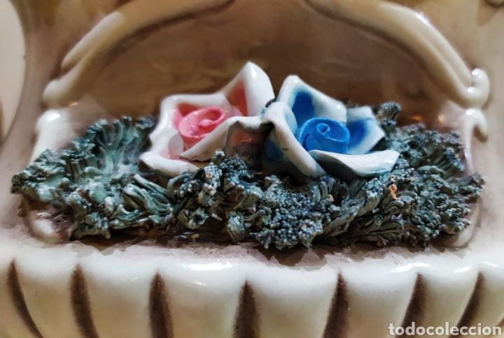 Antigüedades: Salsera antigua de porcelana; Artesanía SOVAL, Ref. 640. Ver fotos. - Foto 7 - 237954425