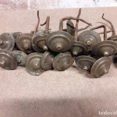 Antigüedades: 25 CLAVOS BRONCE. Lote 238012680