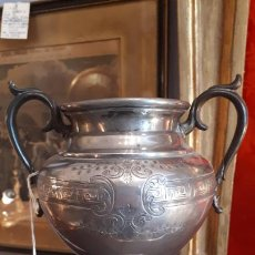 Antigüedades: JARRÓN DE ESTAÑO. Lote 238029855