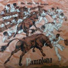 Antigüedades: ANTIGUO PAÑUELO SAN FERMIN. Lote 238047575