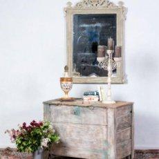 Antigüedades: BAÚL DE GRANJA ANTIGUO S.XIX. Lote 238064310
