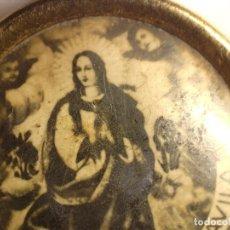 Antigüedades: ANTIGUA MEDALLA DIVINA PORTERA DEL CIELO /VBLE. FR, LUIS DE SAN JOSE - AVILA. Lote 238165715