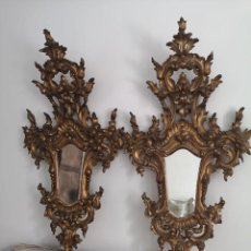 Antigüedades: ESPEJO CORNUCOPIA PIEZA ORIGINAL DEL SIGLO XIX. Lote 238210305