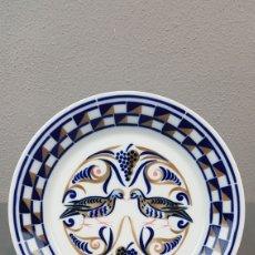 Antigüedades: PLATO HOMENAXE A SANTALLA DE BOVEDA DE SARGADELOS. SERIE: A PERDICES. DESCATALOGADO - 2000 UDS.. Lote 238220295