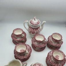 Antigüedades: JUEGO CAFÉ LA CARTUJA DE SEVILLA ( PICKMAN S.A ) VER FOTOS Y DESCRIPCCIÓN. Lote 238220385