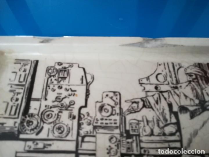 Antigüedades: CENICERO PORCELANA ALGORA - PUBLICIDAD ARTES GRAFICAS - Foto 3 - 238315010