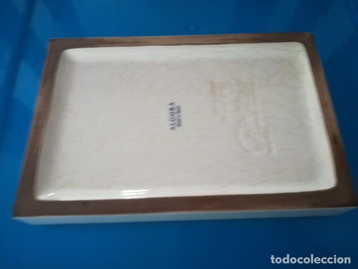 Antigüedades: CENICERO PORCELANA ALGORA - PUBLICIDAD ARTES GRAFICAS - Foto 4 - 238315010