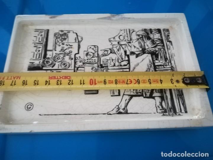 Antigüedades: CENICERO PORCELANA ALGORA - PUBLICIDAD ARTES GRAFICAS - Foto 8 - 238315010