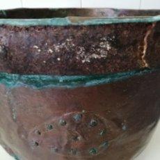 Antigüedades: ANTIGUO CALDERO DE COBRE.. Lote 238364270