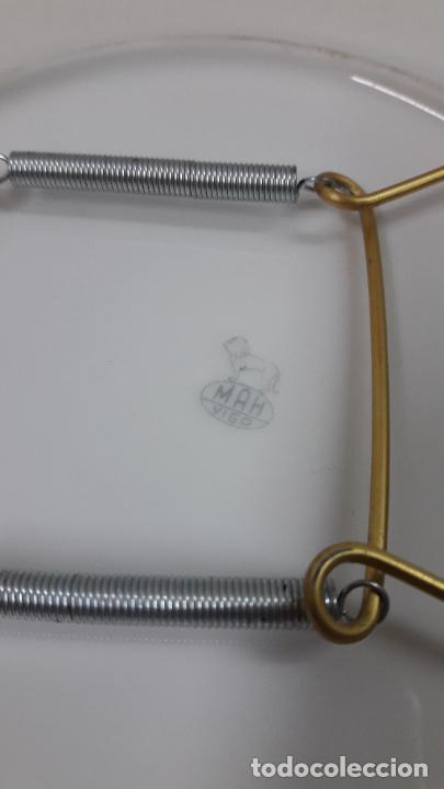 Antigüedades: PLATO PORCELANA DE UN BARCO / NAVIO - PARA COLGAR . SELLADO MAH / VIGO . DIAMETRO 18,5 CM - Foto 6 - 238385730