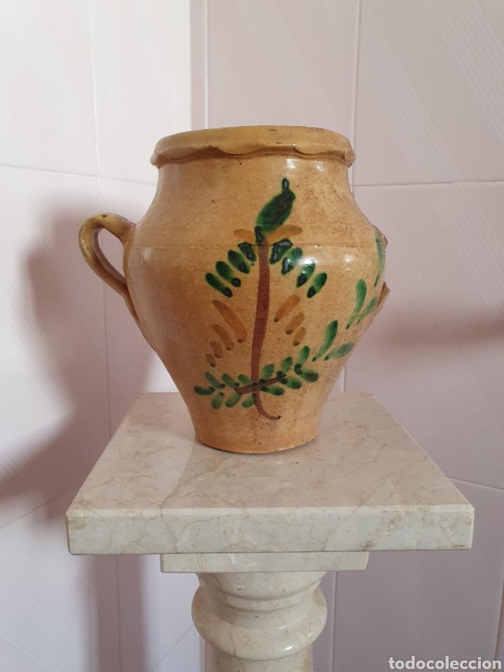 ANTIGUA ORZA DE LUCENA (CORDOBA) POR FAVOR LEER DESCRIPCIÓN (Antigüedades - Porcelanas y Cerámicas - Lucena)