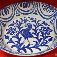 Oggetti Antichi: GRAN LEBRILLO DE FAJALAUZA. GRANADA S. XIX.. Lote 238481360