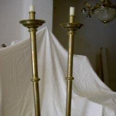 Antigüedades: GRANDES VELONES IGLESIA CON PATAS DE GARRA. Lote 238487375