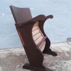 Antigüedades: PAREJA DE BUTACAS DE CINE O TEATRO VINTAGE.. Lote 238502815