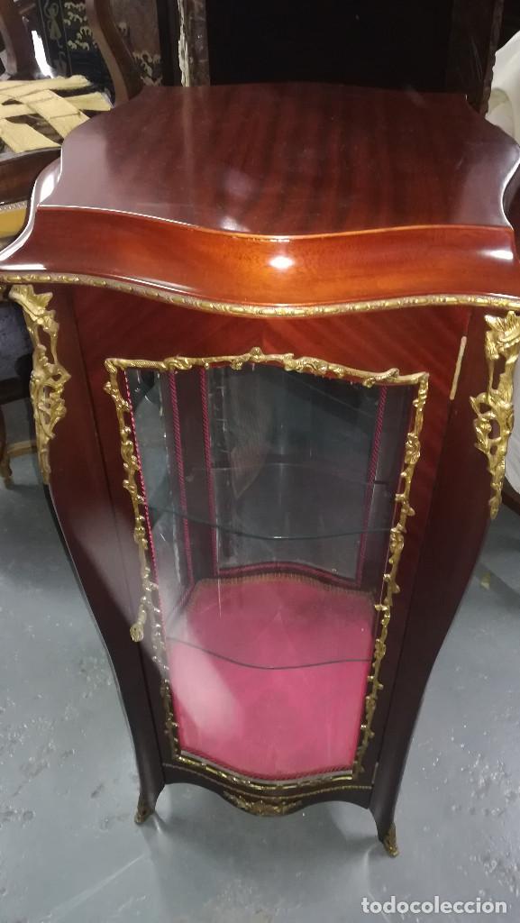 VITRINA ESTILO LUIS XV (Antigüedades - Muebles Antiguos - Vitrinas Antiguos)