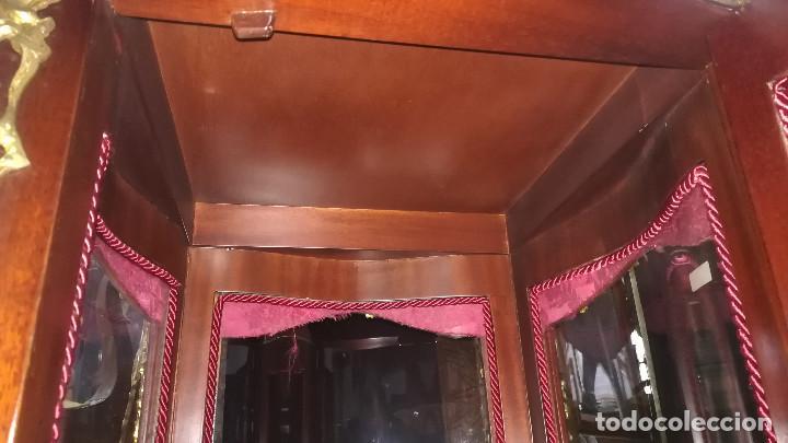 Antigüedades: VITRINA ESTILO LUIS XV - Foto 11 - 238585370