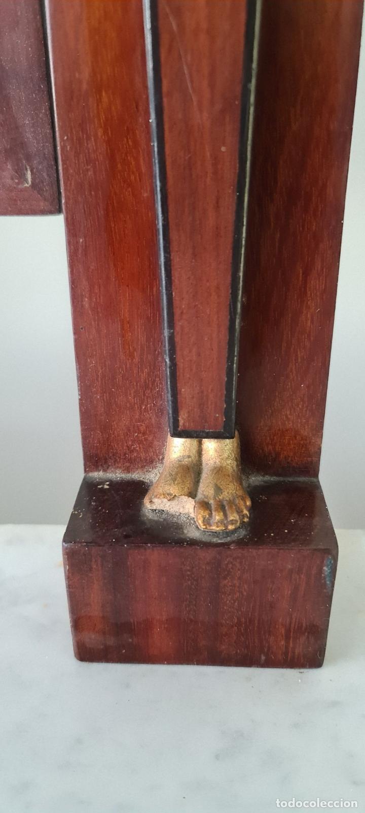 Antigüedades: COMODA TOCADOR. MADERA DE CAOBA Y DORADOS. ESTILO DIRECTORIO. SOBRE DE MÁRMOL. SIGLO XVIII-XIX. - Foto 3 - 238726050