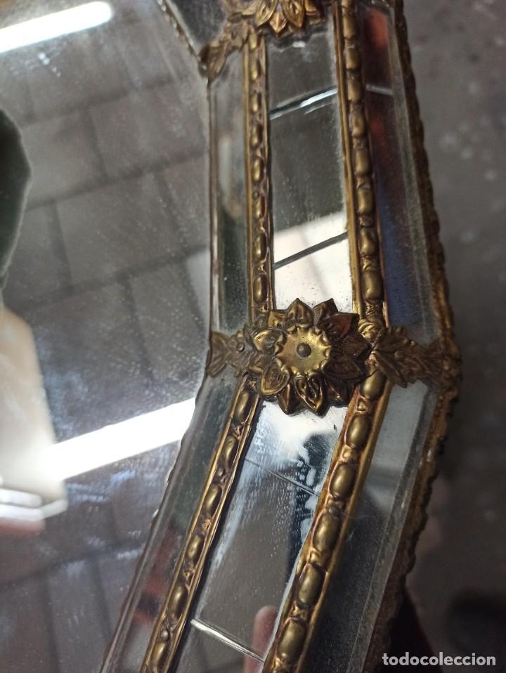 Antigüedades: Espejo Tipo Veneciano - Foto 5 - 238732235