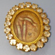 Antigüedades: RELICARIO. RELIQUIAS DE FRANCISCO DE SALES. MARIA ALACOQUE. FRANCISCA CHANTAL. FRANCIA. XIX. Lote 238734625