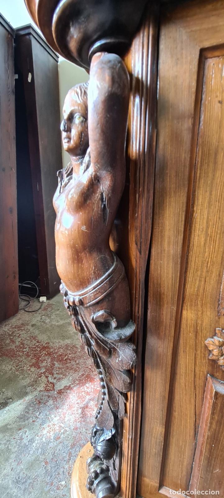 Antigüedades: COMODA EN MADERA DE PALISANDRO. SOBRE DE MÁRMOL. ESTILO ISABELINO. SIGLO XIX. - Foto 42 - 238756765