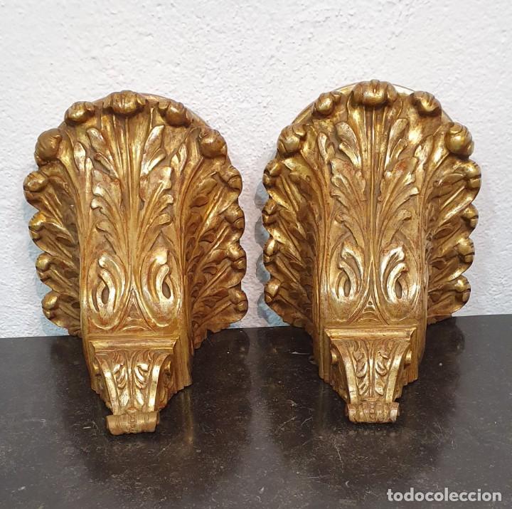 Antigüedades: PAREJA DE JARRONES SATSUMA CON PEANAS DE MADERA - MUY DECORATIVOS. - Foto 7 - 238776580