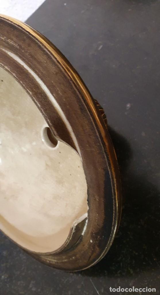 Antigüedades: PAREJA DE JARRONES SATSUMA CON PEANAS DE MADERA - MUY DECORATIVOS. - Foto 16 - 238776580