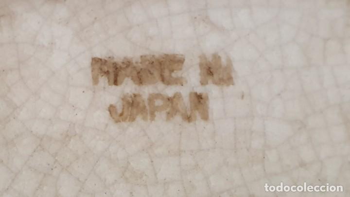 Antigüedades: PAREJA DE JARRONES SATSUMA CON PEANAS DE MADERA - MUY DECORATIVOS. - Foto 18 - 238776580