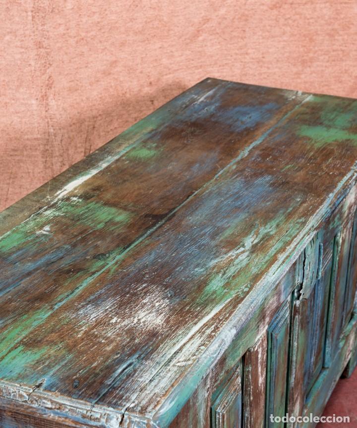 Antigüedades: Arcón Antiguo Restaurado Alfaro - Foto 6 - 238777130
