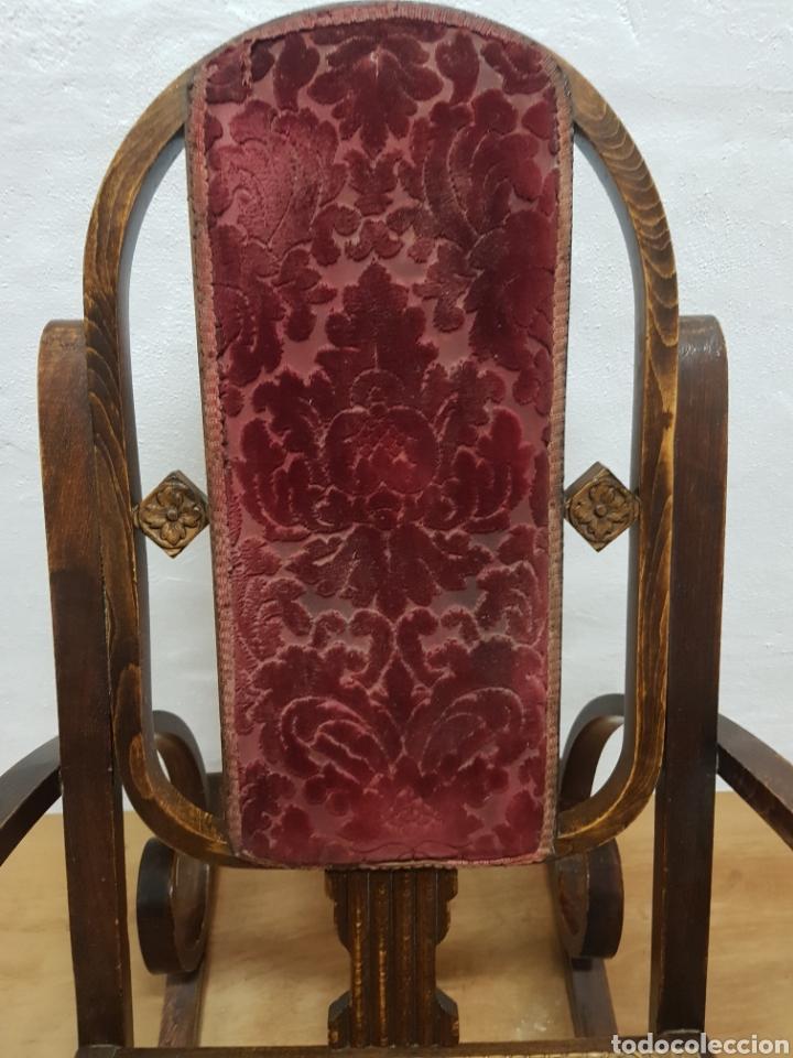 Antigüedades: Mecedora , tipo Tonet antigua - Foto 4 - 238801690