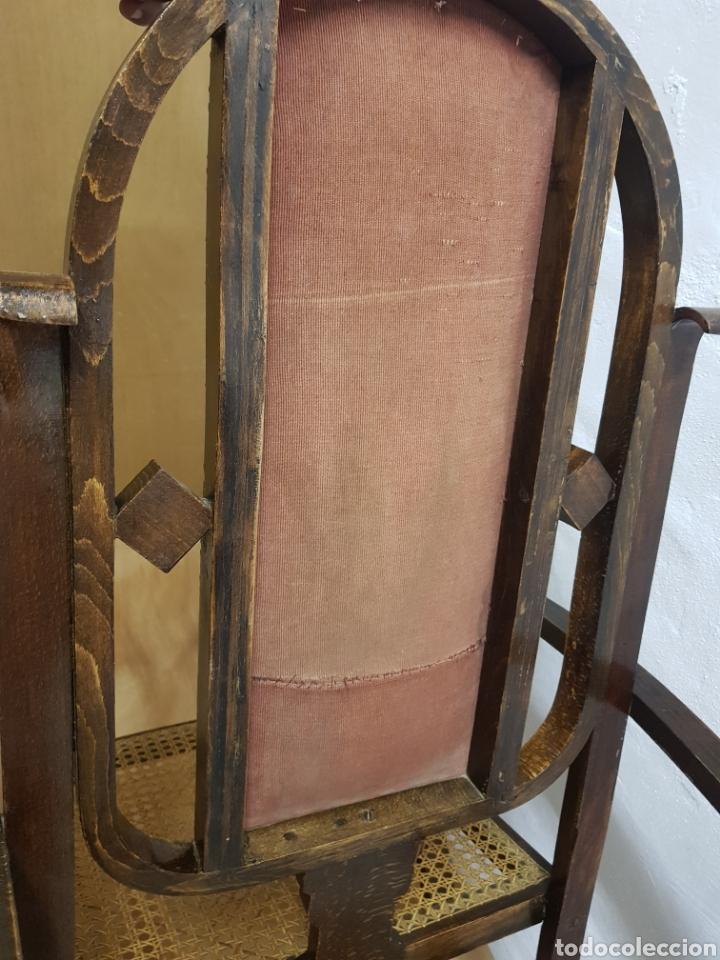Antigüedades: Mecedora , tipo Tonet antigua - Foto 5 - 238801690