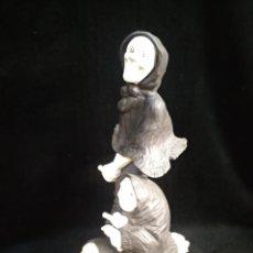 Antigüedades: ALGORA TRES BRUJAS. FIGURA DE PORCELANA ALGORA 37CM. Lote 238818005