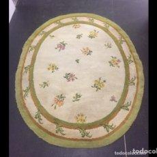 Antigüedades: ALFOMBRA DE LANA ANUDADA A MANO 292X190CM. Lote 238855920