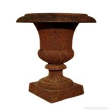 Antigüedades: JARRÓN DE CAMPANA - HIERRO (FUNDIDO/FORJADO) - PRIMERA MITAD DEL SIGLO XX. Lote 238869640