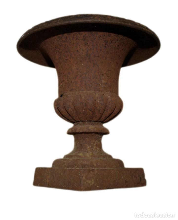 Antigüedades: Jarrón de Campana - Hierro (fundido/forjado) - Primera mitad del siglo XX - Foto 3 - 238869640