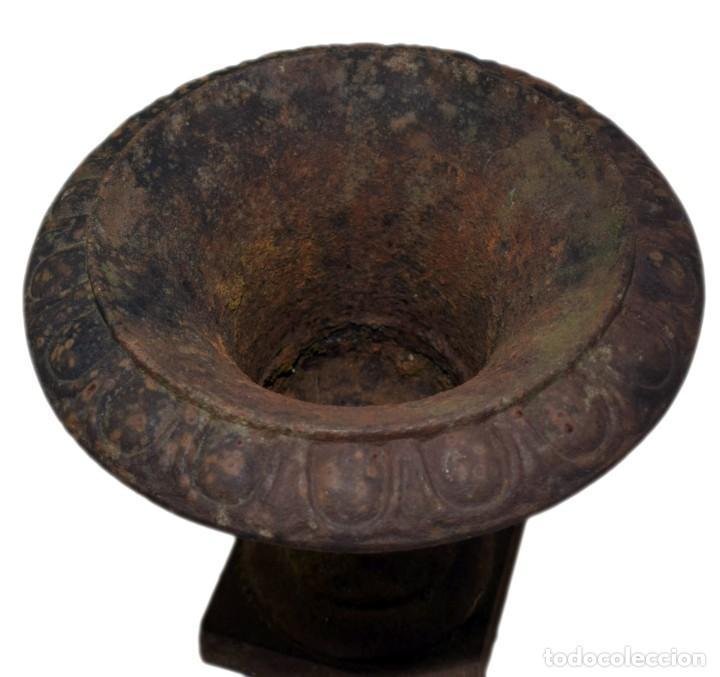 Antigüedades: Jarrón de Campana - Hierro (fundido/forjado) - Primera mitad del siglo XX - Foto 7 - 238869640