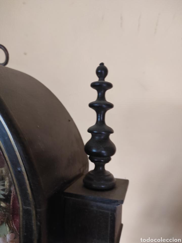 Antigüedades: Antigua Urna de Madera Acristalada - Tríptico de San José con el Niño Jesús - - Foto 13 - 239368150