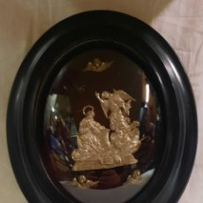 Antigüedades: ANTIGUA PILA BENDITERA DE PLATA. Lote 239412455