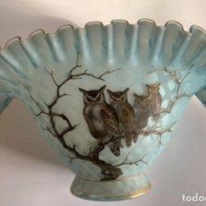 Antigüedades: CENTRO MESA OPALINA (S.XIX). Lote 239432480