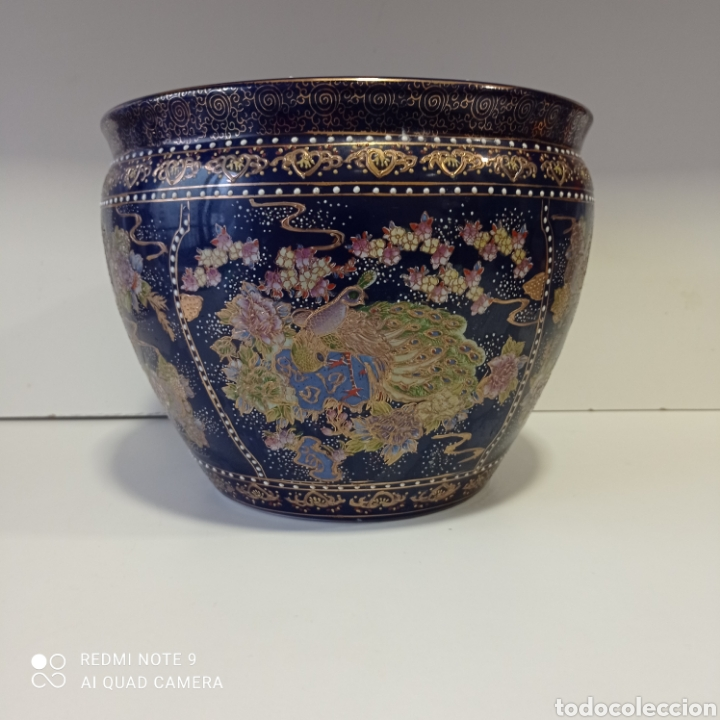 JARRÓN CHINO (Antigüedades - Hogar y Decoración - Centros de Mesas Antiguos)