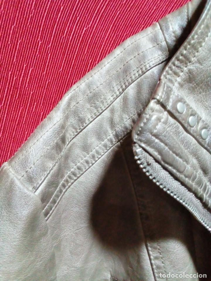 Antigüedades: chaqueta nueva de piel marca CANDA - Foto 3 - 239481590