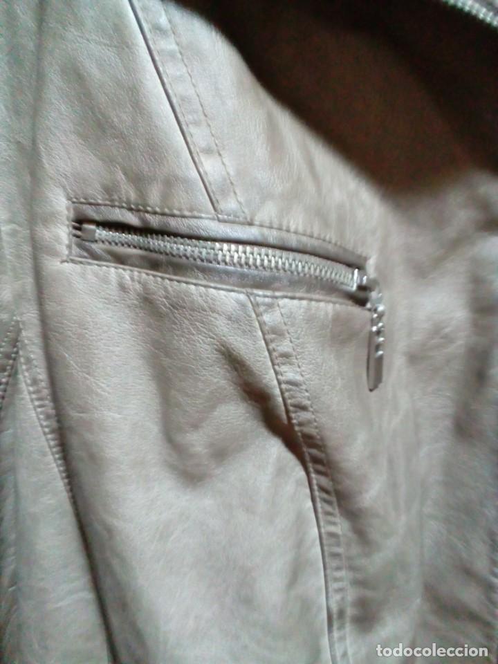 Antigüedades: chaqueta nueva de piel marca CANDA - Foto 7 - 239481590